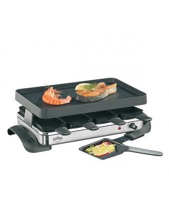 Gratar electric cu piatra fierbinte si 8 raclette, colectia Exclusive - KUCHENPROFI