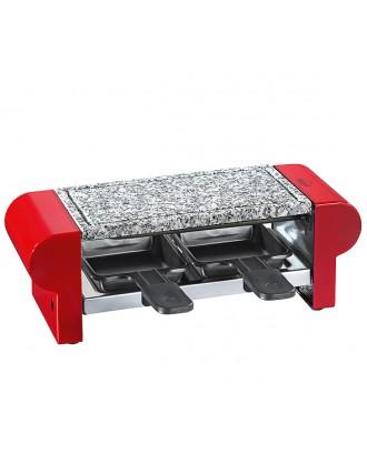 Kuchenprofi Set grill/raclette electric Hot Stone rosu