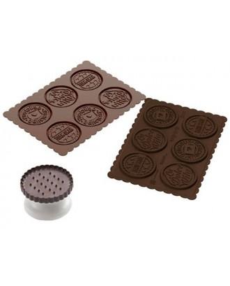 Silikomart Stampila biscuit Sweet Life