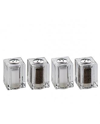 Set 4 mini recipiente sare/piper - KUCHENPROFI