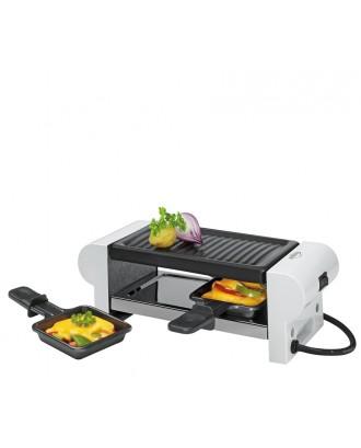 Gratar electric cu 2 raclette, alb, model Trendline - KUCHENPROFI