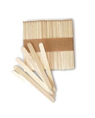 Set 100 mini-bete de lemn pentru inghetata - SILIKOMART