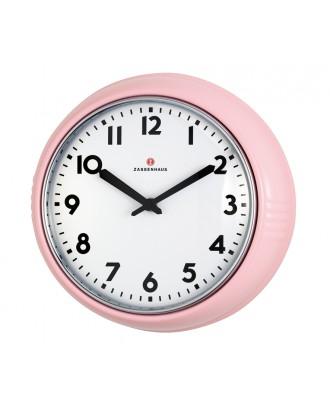 Ceas de perete, roz, 24 cm - ZASSENHAUS