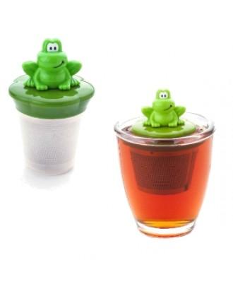 Infuzor pentru ceai, model broasca, colectia Ribbit - JOIE