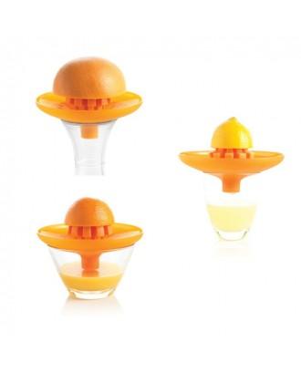 Storcator de citrice 2-in-1, portocaliu - MASTRAD