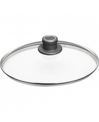 Capac rotund din sticla securizata, 18 cm - WOLL