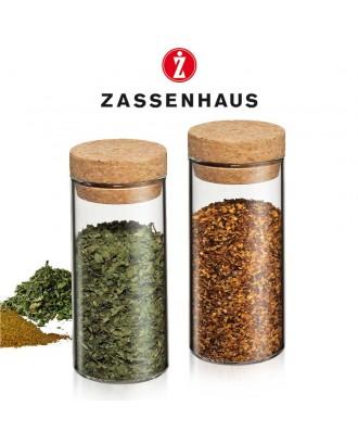 Zassenhaus Set de 2 flacoane pentru condimente