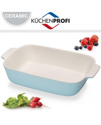 Tava din ceramica pentru cuptor, bleu, 30 cm - KUCHENPROFI