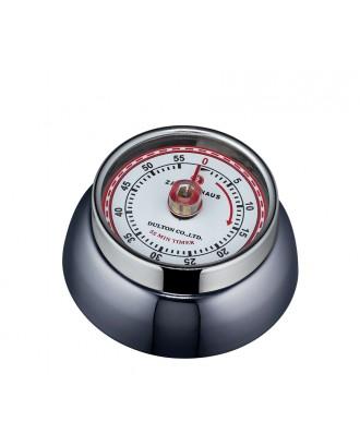 Cronometru de bucatarie, gri metalizat, colectia Speed - ZASSENHAUS