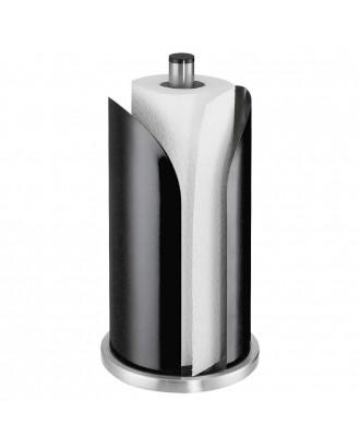 Suport vertical pentru rola de hartie, negru, model Corona - KUCHENPROFI