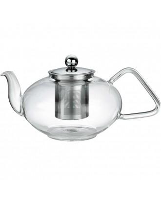 Ceainic  cu infuzor, sticla, 1,2 litri, colectia Tibet - KUCHENPROFI