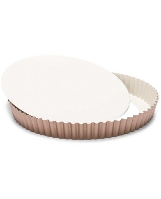 Forma pentru tarta, baza detasabila, otel, 28 cm, colectia Ceramic - PATISSE