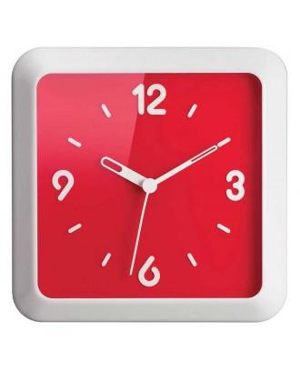 Ceas de perete, rosu, 36x36 cm, model Times Square - GUZZINI