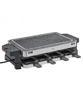 Plita electrica cu piatra fierbinte si 8 raclette - KUCHENPROFI