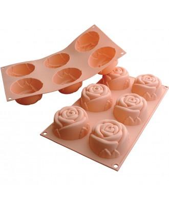 Silikomart Forma briose Rose