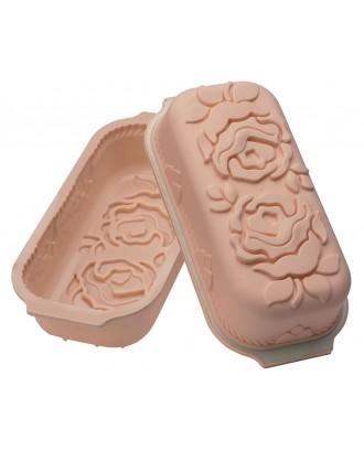 Forma prajitura Plum Cake Rose - SILIKOMART