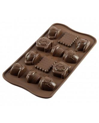 Forma ciocolata Tea Time - SILIKOMART