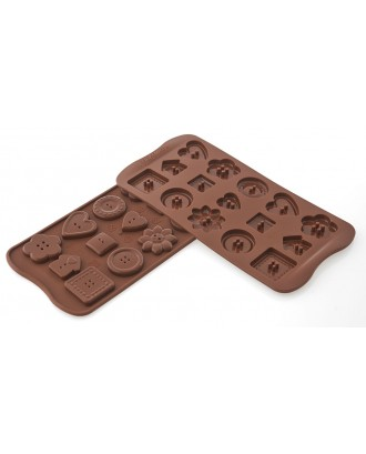 Forma ciocolata Choco Buttons - SILIKOMART