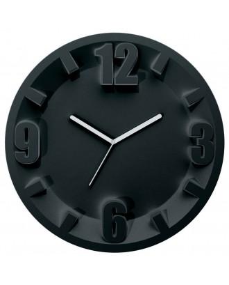 Ceas de perete, negru, 31.5 x 30 cm, quartz - GUZZINI