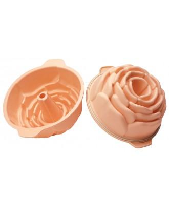 Forma prajitura Rose, 22 cm - SILIKOMART