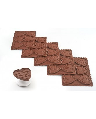 Kit decorare prajituri, Cookie ABC - SILIKOMART