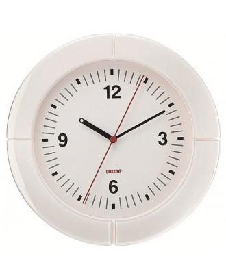 Ceas de perete i-Clock, alb, 37 cm, model Sydney - GUZZINI