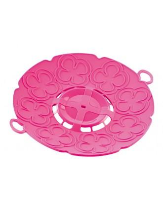 Capac pentru gatit la aburi, roz, 30 cm - SILIKOMART