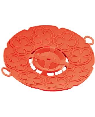 Capac pentru gatit la aburi, portocaliu, 30 cm - SILIKOMART