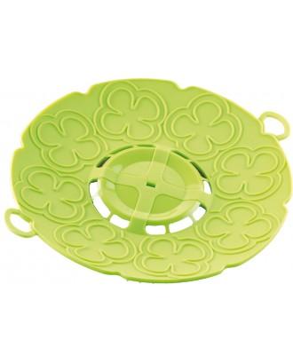 Capac pentru gatit la aburi, verde, 30 cm - SILIKOMART