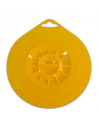 Capac UFO 15, din silicon, galben, 15 cm - SILIKOMART