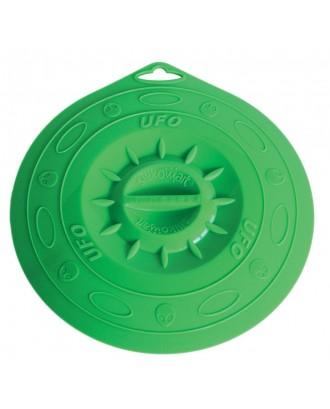 Capac UFO 21 din silicon, verde, 21.5 cm - SILIKOMART