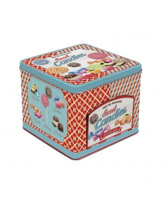 Cutie de bomboane, cu sertar