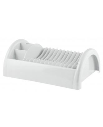 Uscator pentru farfurii si tacamuri, plastic, alb, colectia Forme Casa - GUZZINI
