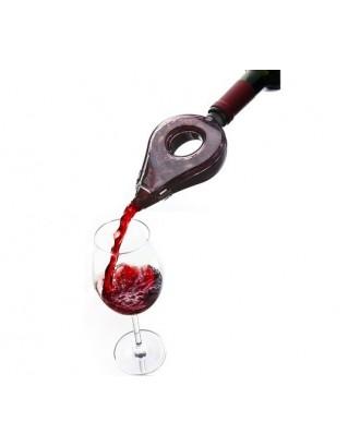 Aerator Vin, Transparent/Gri - Vacu Vin