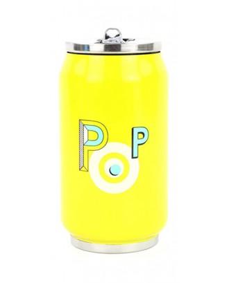 Cutie izoterma cu pai, 280ml, model POP - YOKO