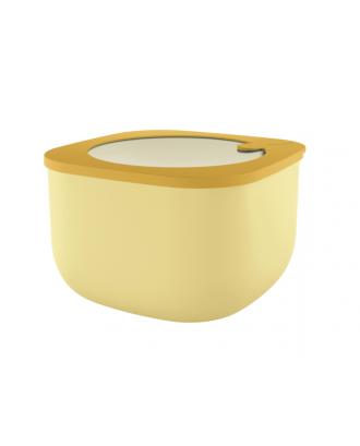 Cutie cu capac pentru depozitare, 2800 ml, galben, colectia Store&More - GUZZINI
