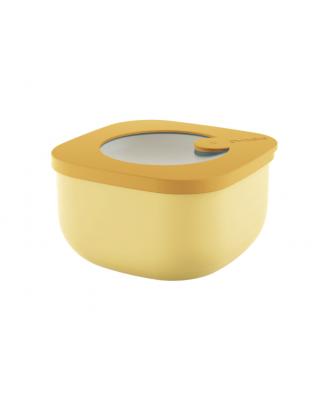 Cutie cu capac pentru depozitare, 450 ml, galben, colectia Store&More - GUZZINI