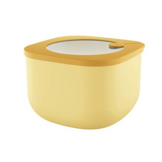 Cutie cu capac pentru depozitare, 1550 ml, galben, colectia Store&More - GUZZINI