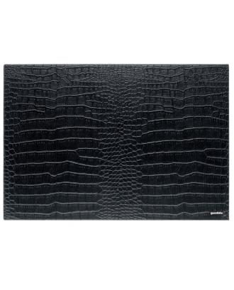 Suport farfurie reversibil Cocco, negru, 43 x 30 cm, colectia My Fusion - GUZZINI