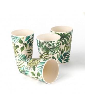 Polynesia Set 4 Pahare Bambus